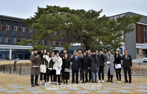 전북 미래를 열고 갈 수습사무관들의 모습(사진=장수군 제공)