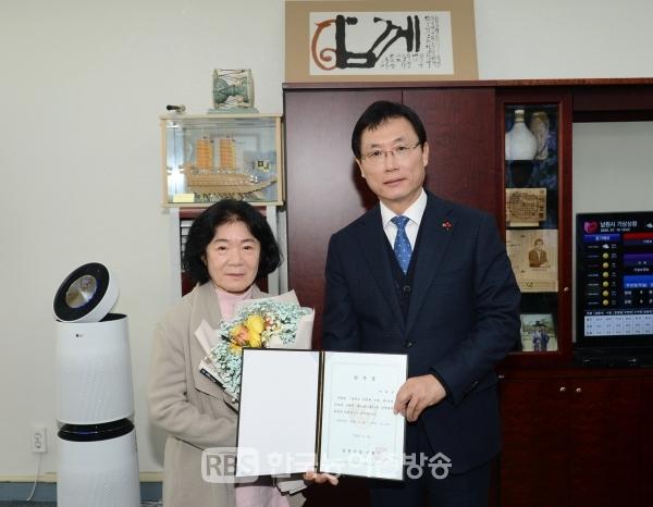 제90회 춘향제 개최를 위한 안숙선 춘향제전위원장 위촉식[사진=남원시]