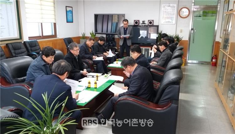 광양시가 2020년 방역사업추진을 위해 가축방역심의회를 개최했다.(제공=광양시)