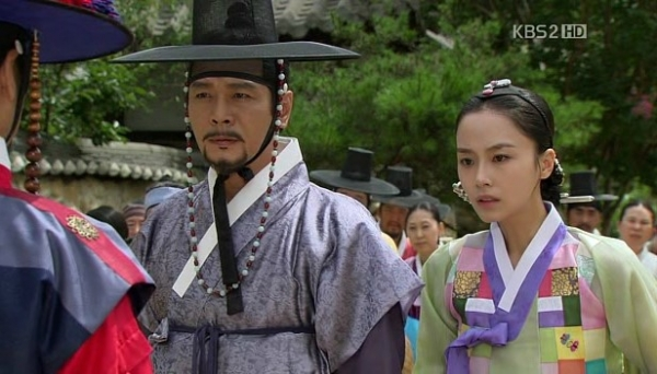 조선 제5대 왕 문종의 딸이자 단종의 누나인 경혜공주와 남편 정종. 출처 / KBS2TV 드라마.